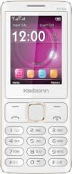 Telefon Mobil Karbonn K106s K9 Spy Dual Sim White Champagne