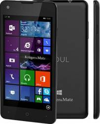 Telefon Mobil Kruger Matz Soul 2 Dual SIM Windows 8.1 Black