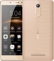 Telefon Mobil Leagoo M8 Dual SIM Champagne Gold + Husa + Casti + Folie Telefoane Mobile