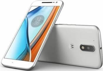 Telefon Mobil Lenovo Moto G4 16GB Dual Sim 4G White