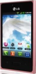 imagine Telefon Mobil LG E400 Optimus L3 Red 61242