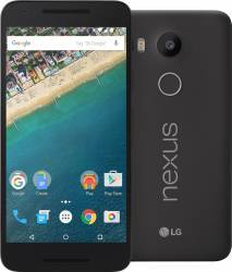 Telefon Mobil LG Nexus 5X 32GB LTE Black Telefoane Mobile