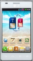 Telefon Mobil LG Optimus L5 E615 Dual Sim White