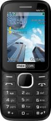 Telefon mobil MaxCom MM 143 Dual Sim Black Telefoane Mobile