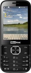 Telefon Mobil MaxCom MM237 Dual Sim Black Resigilat telefoane mobile