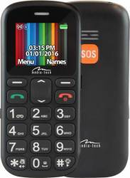 Telefon Mobil Media-Tech MT852 GrandPhone Dual Sim Black Telefoane Mobile