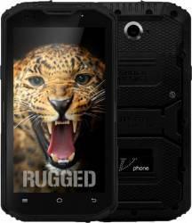 Telefon Mobil NO1 V-Phone X3 X2i 16GB Dual SIM 4G Black + 2xFolie Plastic Telefoane Mobile