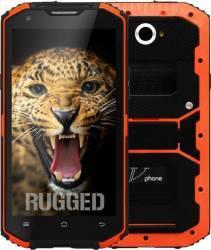 Telefon Mobil NO1 V-Phone X3 X2i 16GB Dual SIM 4G Orange + 2xFolie Plastic Telefoane Mobile