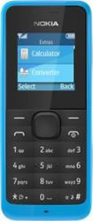 Telefon Mobil Nokia 105 Cyan