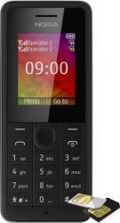 Telefon Mobil Nokia 107 Dual SIM Black