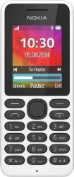 Telefon Mobil Nokia 130 Dual SIM White Resigilat