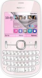 imagine Telefon Mobil Nokia 200 Asha DualSim Light Pink. nok200gsmlp_resigilat