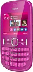 Telefon Mobil Nokia Asha 200 Dual SIM Pink