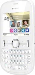 imagine Telefon Mobil Nokia Asha 200 Dual SIM White. 50988_resigilat