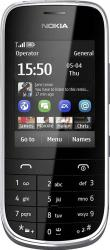 imagine Telefon Mobil Nokia Asha 202 Dual SIM White 54469