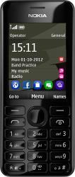 Telefon Mobil Nokia 206 Dual SIM Black