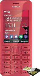 imagine Telefon Mobil Nokia 206 Dual SIM Red 68502