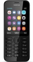 Telefon Mobil Nokia 222 Dual SIM Black