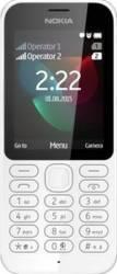 Telefon Mobil Nokia 222 Dual SIM White