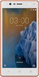 Telefon Mobil Nokia 3 16GB Dual Sim 4G Copper White Telefoane Mobile