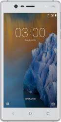 Telefon Mobil Nokia 3 16GB Dual Sim 4G Silver White Telefoane Mobile