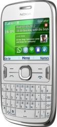 imagine Telefon Mobil Nokia 302 Asha White. nk302wh_resigilat