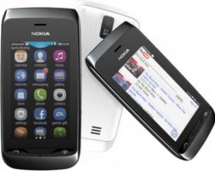 imagine Telefon Mobil Nokia 309 Asha Black 309 asha (wifi) + 2gb card black