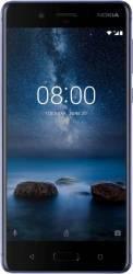 Telefon mobil Nokia 8 64GB Dual SIM 4G Tempered Blue Telefoane Mobile