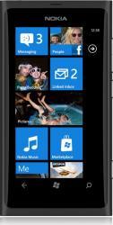 imagine Telefon Mobil Nokia Lumia 800 Black. 800 lumia black_resigilat