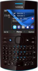 imagine Telefon Mobil Nokia Asha 205 Cyan Dark 205 asha single sim cyan dark rose