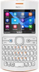 imagine Telefon Mobil Nokia Asha 205 White Orange 205 asha single sim orange white