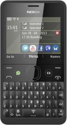 imagine Telefon Mobil Nokia Asha 210 Dual SIM Black. a00012759_resigilat