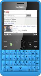 Telefon Mobil Nokia Asha 210 Dual SIM Cyan