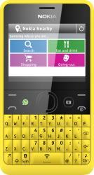 Telefon Mobil Nokia Asha 210 Yellow