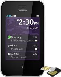 Telefon Mobil Nokia Asha 230 Dual SIM White