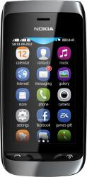 imagine Telefon Mobil Nokia Asha 310 Dual SIM Black 69493