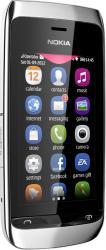imagine Telefon Mobil Nokia Asha 310 Dual SIM White. 70298_resigilat