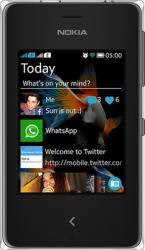 Telefon Mobil Nokia Asha 500 Dual SIM Black