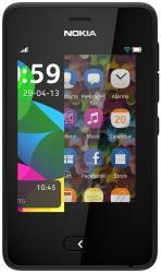 Telefon Mobil Nokia Asha 501 Dual SIM Black