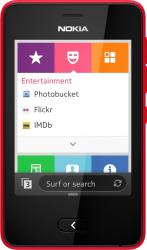 imagine Telefon Mobil Nokia Asha 501 Dual SIM Red nk501rd