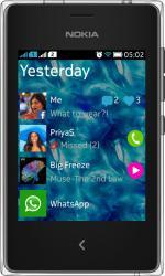 Telefon Mobil Nokia Asha 502 Dual Sim Black