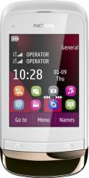 Telefon Mobil Nokia C2-03 DualSIM Golden White