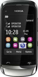 imagine Telefon Mobil Nokia C2-06 Dual Sim Graphite. 002z4c8_resigilat
