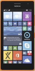 Telefon Mobil Nokia Lumia 730 Dual SIM Orange