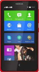Telefon Mobil Nokia X Dual SIM Red Resigilat