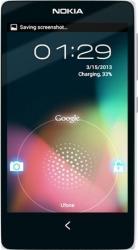 Telefon Mobil Nokia X Dual SIM White