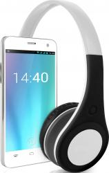 Telefon Mobil Overmax Vertis You Music Dual SIM White + Casti