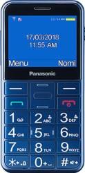 Panasonic Telefon mobil KX-TU150EXC pentru Seniori cu buton SOS Albastru