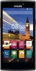 Telefon mobil Philips S337 Dual Sim Black Red Telefoane Mobile