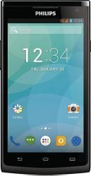 imagine Telefon Mobil Philips S388 Black s388 single sim black